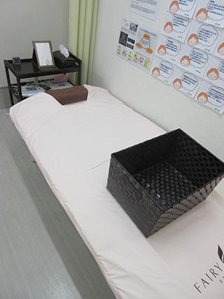 女性専用の岩盤エクササイズ施術スペース《温活スペース》